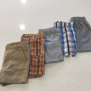5/$20 Baby Boy Shorts in Size 12m